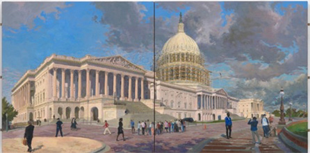 Elaine Wilson, Renovating the Capital, artline