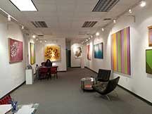 Bethesda Fine Art, Gallery Interior, artline