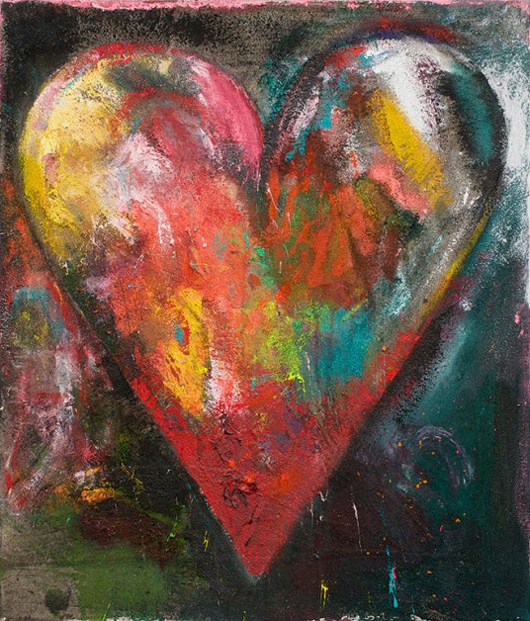 Jim Dine at Jonathan Novak