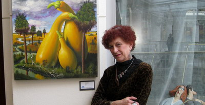 Margery Goldberg on artline