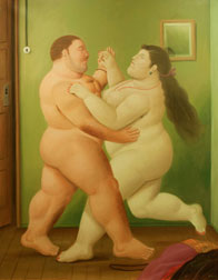 Fernando Botero at James Goodman Gallery