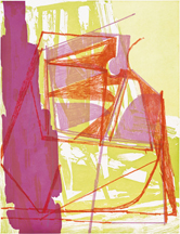 Amy Sillman at Crown Point Press