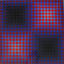 Victor Vasarely at Barbara Leibowits Graphics