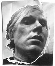 Andy Warhol at Andy Warhol<br /><br />Photography by Arnold Newman