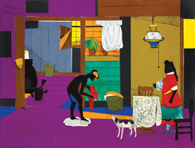 artline, art, artist, Romare Bearden at Jerald Melberg Gallery