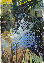 Elizabeth Peak, Artist, The Large Pond Kiawah, artline