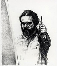 artline, art, artist, Sigmund Abeles at Sigmund Abeles<br /> <em>Measuring Up</em>, 1975<br /> lithograph, ed. 50<br />18 1/4 x 13 1/4&quot;<br /> Yale University Art Museum Collection