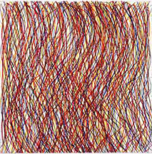 artline, art, artist, Sol LeWitt at Sol LeWitt<br /> <em>Eight Small Etchings/ Color No. 5</em>, 1999<br /> color hard ground etching, ed. 40,<br />8 x 8&quot;