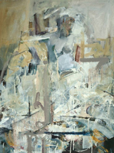 artline, art, artist, Jo Weiss at Jo Weiss<br /> <em>Cassandra</em>, 2011<br /> oil on canvas<br /> 48 x 38&quot;