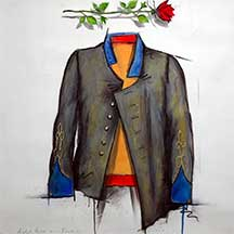 William R. Dunlap, Artist, Rose and Rebel Tunic, on artline